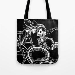 ZAPATEADO ON BLACK Tote Bag
