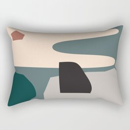 // Shape study #21 Rectangular Pillow