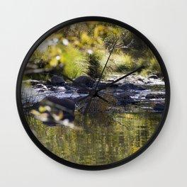 Creekside View Wall Clock