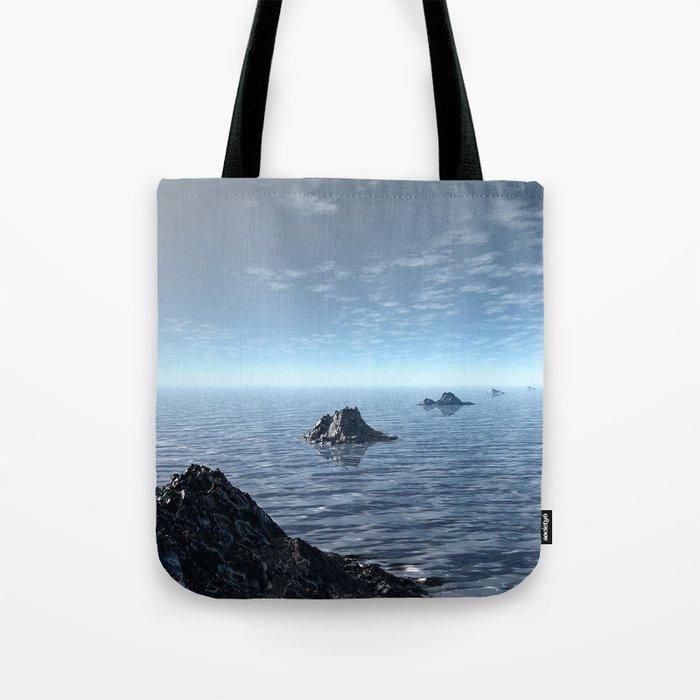 Ocean Island Chain Tote Bag