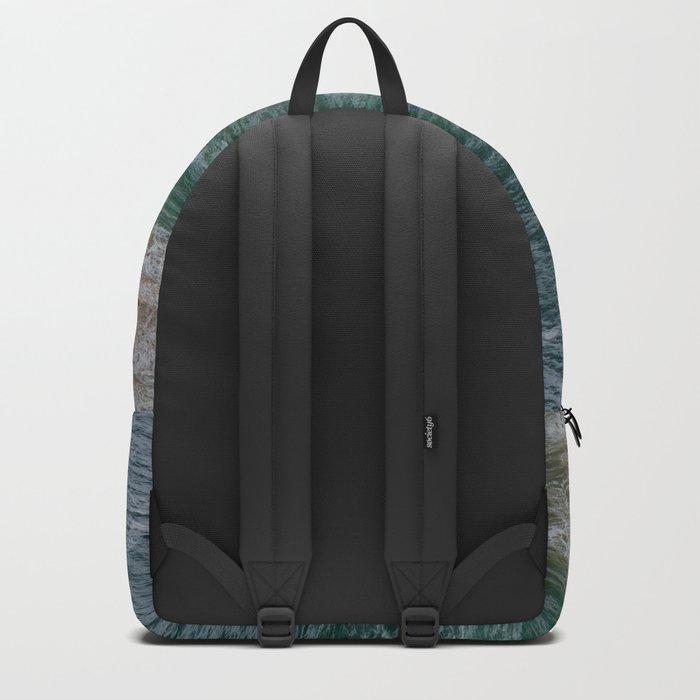 Marvelous Marbled Waves Backpack