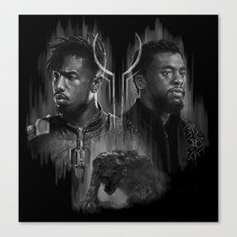 The King and the Outsider Canvas Print