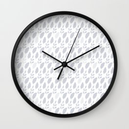 Folk Art Nr.2 - Leaves Wall Clock