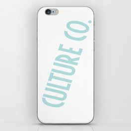 Culture Co. iPhone Skin