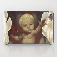 religious iPad Cases featuring Singularity by Dave E. Phillips