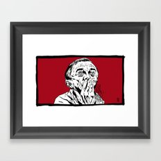 And I Sound Like This Framed Art Print