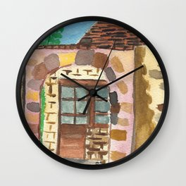 Stone Villa Wall Clock