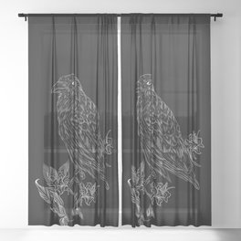 Raven Sheer Curtain