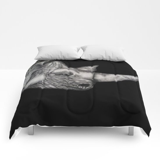 Roy in Black Comforters
