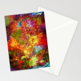 The Eye Of Craziness Stationery Cards