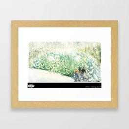 WHITE CHRISTMAS Framed Art Print