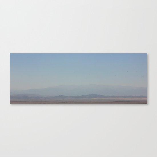 Valley Of Forgotten Memories Canvas Print