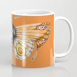 orange moth (ORIGINAL SOLD). Coffee Mug
