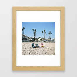 Santa Cruz, CA Framed Art Print