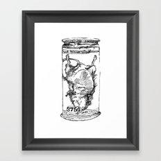 Mouse in a Jar Framed Art Print