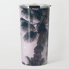 Palm Tree Art Print {2 of 3} | Magenta Pastels Topical Beach Plant Nature Vacation Sun Vibes Artwork Travel Mug