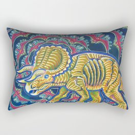 As Awesome As Three Unicorns Rectangular Pillow
