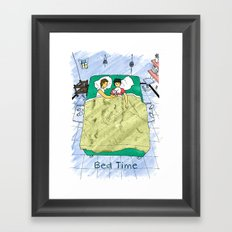 Bed time #2 Framed Art Print