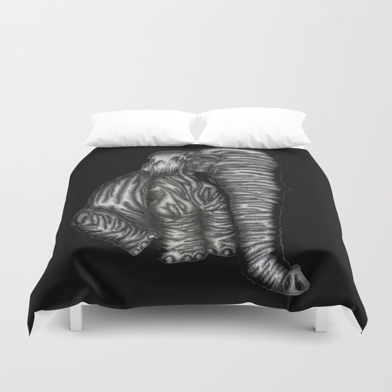 Herman in Black Duvet Cover