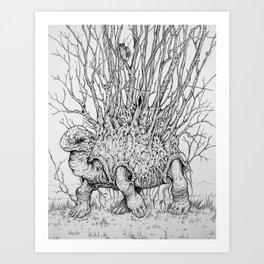 The Wandering Home Art Print