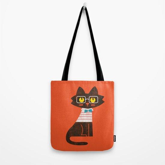 Fitz - Preppy cat Tote Bag