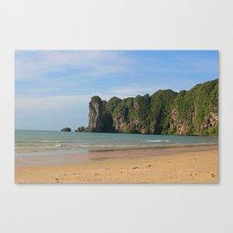 Tropical Thailand Beach Canvas Print