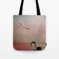 Red Sky at Night Sailor's Delight Tote Bag
