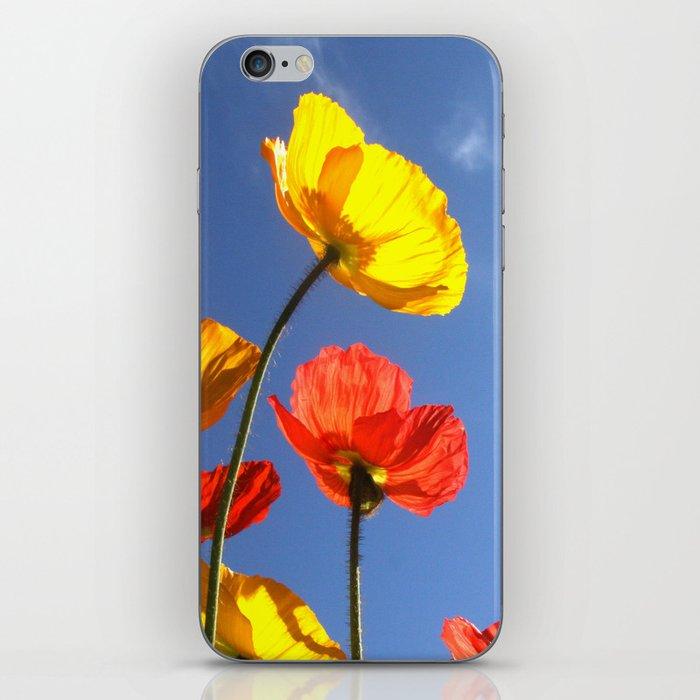 Happy Poppies iPhone Skin