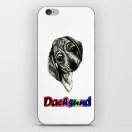 Dachsund iPhone Skin