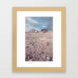 boat houses... Framed Art Print