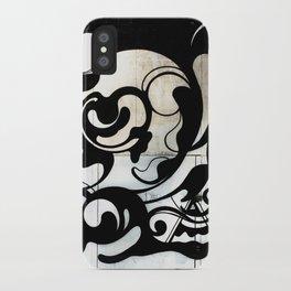 Graffiti Swirl iPhone Case