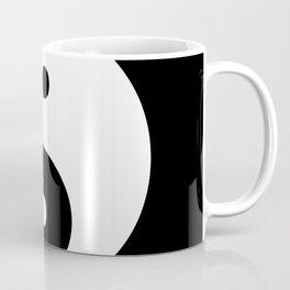 Yin & Yang (White & Black) Coffee Mug