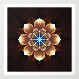 Fractality - Deku Flower Art Print