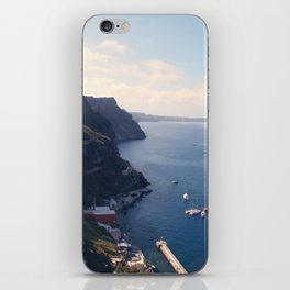 santorini iPhone Skin