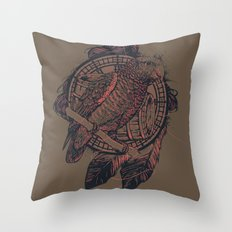 The Pirate's Assistant Throw Pillow
