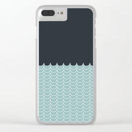 Vitamine Sea Clear iPhone Case