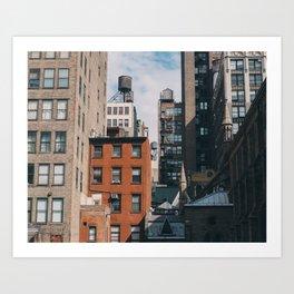 New York #1 Art Print