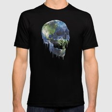 mothers dying Mens Fitted Tee MEDIUM Black