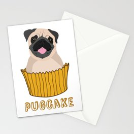 Pugcake Stationery Cards
