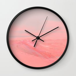 CHEMIN ROSE Wall Clock
