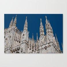 Gothic skies Canvas Print