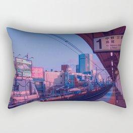 5 AM in Tokyo Rectangular Pillow
