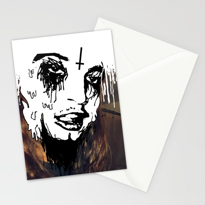 Stupid Face Stationery Cards