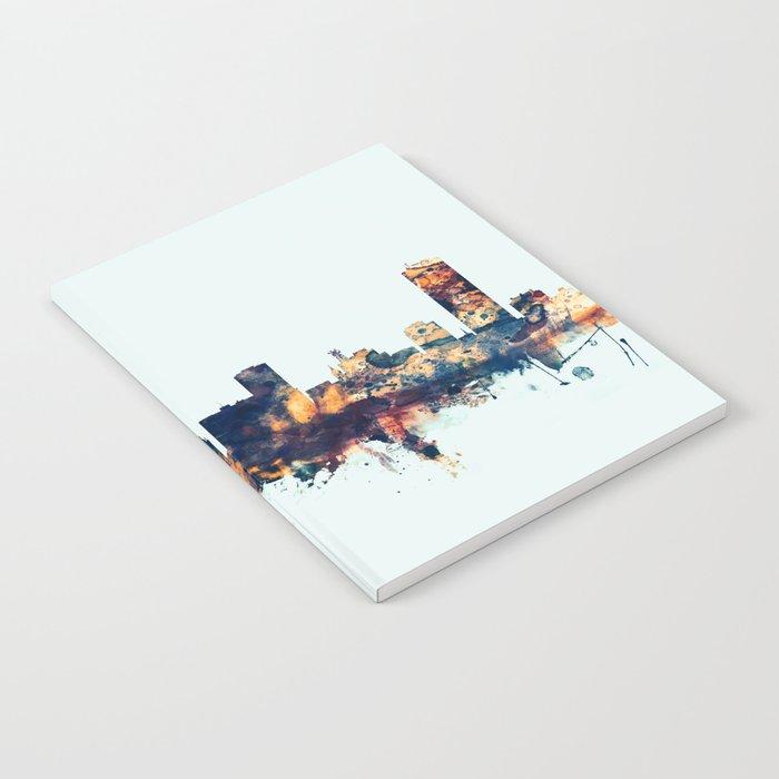 Buffalo New York Skyline Notebook