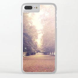 Vintage Perspective Clear iPhone Case