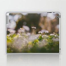 White Daisy Laptop & iPad Skin