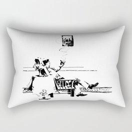 A Smoke Rectangular Pillow