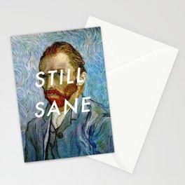 van Gogh is Still Sane Stationery Cards