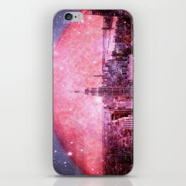 Galaxy : Space Colony iPhone Skin