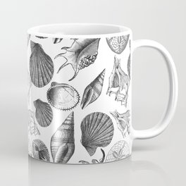 Sea and Ocean Life-Shell Pattern - Mix & Match with Simplicity of life Coffee Mug